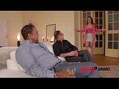 Busty Milf Lucia Love black dick DP'ed to the extreme in XXX threesome GP131