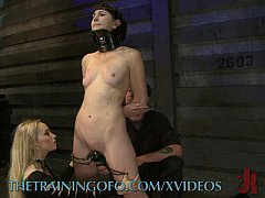 Sex Slave Get Fist Training