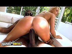 BANGBROS - Erica Fontes Gets Her Sweet Little Portuguese Ass Rammed With Black Cock