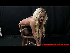 Submissive model tiedup and dominated