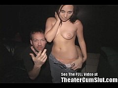 Sierra Snow and her Porn Theater Orgy!