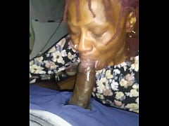 Sloppy granny head (cums)