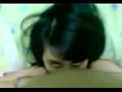 Indonesian amateur girl loves blowjob