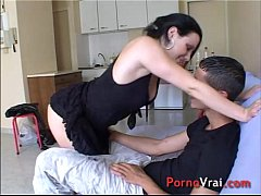 Casting - Accidental Creampie for French student!!!