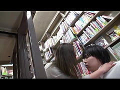 Japanese in bookstore