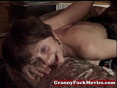 Granny pounding younger tasty dick