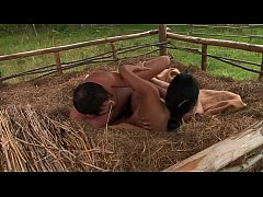 In the barn anal sex for the girl