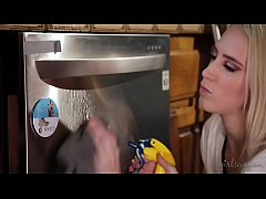 HD Squirter cleaning lady and the hot house owner - Maddy O'Reilly, Cadence Lux