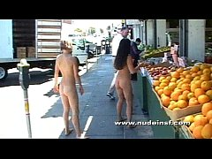 Nude in San Francisco: Jenni and Earth Friend Jen take a naked stroll