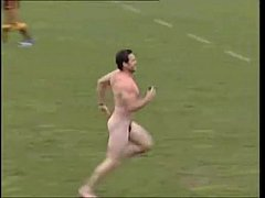 Rugby Player Marc Ellis Streaking