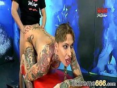 Extreme666 - Calisi Ink In Piss Swallowing Mania 0022