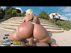 BANGBROS - Marvel At Blondie Fesser's Glorious BIG ASS Getting Fucked Hard