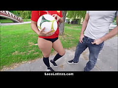 two american guys pay sexy big butt latina andreina deluxe for sex
