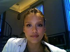 Jessica Alba Jerkoff Instruction Red Ligh ...
