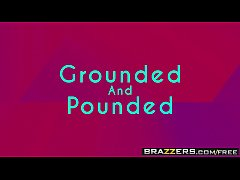 HD Brazzers - Teens Like It Big - Grounded And Pounded scene starring Avery Adair and Tommy Gunn
