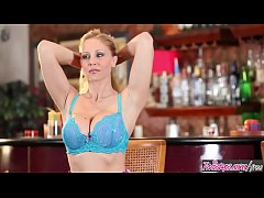 Twistys - Julia Ann starring at The Perfect Bar Maid