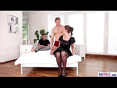 Bisexual cuckold boy - Gabriella Daniels, Aslan Brutti and Mark Black