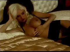 Blonde Big Boobs Beauty 7 Orgasms Anal DP, Helen Duval