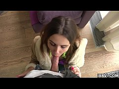 Pickup of a young Ukrainian girl and her quality blowjob. Elle Rose with Vira Gold