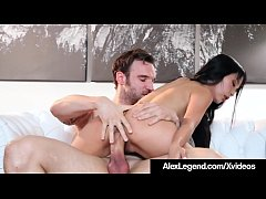 Little Petite Japanese Cutie, Marica Hase, takes a deep mouth fucking & fat dick pussy pounding as Alex Legend bangs her until he dumps his load all over her face!