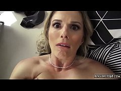 Hairy french milf Cory Chase friend's sister caught friend's brother watching porn