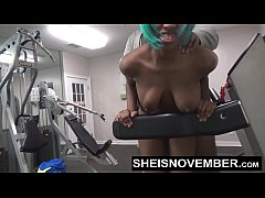 Fuck In The Gym By A Stranger Anal & Blowjob Young Msnovember POV Public Sex