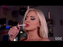 strip club after hours - nathaly cherie fucks her own ass hard