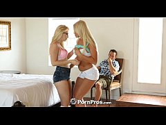 HD HD - PornPros Two teen blondes bounce on the cock
