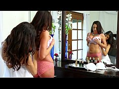 Veronica Rodriguez Helps Her Friend Step-Mom Ariella Ferrera Out