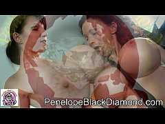 Penelope Black Diamond - Sklavin Michaela 2 Dildos  Preview