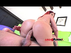 Big butt slut Lady Love first anal SPX004