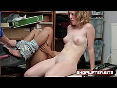 Excited Shoplifting Nymphomaniac Real Fucking In Backroom