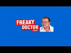Old freaky gyno doctor on young pussy