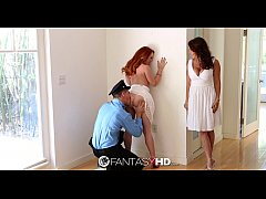 HD - FantasyHD Foxy Janet gives Teen Dani rough fuck for birthday