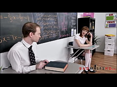Big Tits MILF Nun Threesome With Two Catholic Students After Catching Them