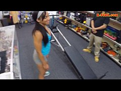 Gym trainer posed on camera and pounded at the pawnshop