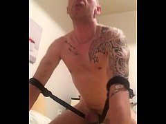 I love to torture my cock