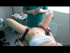 girls orgasm on the gynecological chair 31