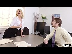 Freaky MILF gives employee a raise -  datingladiesonline.com