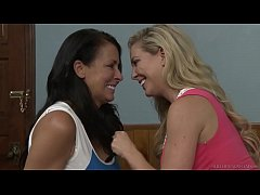 Disappointed wives have lesbian thoughts # Cherie DeVille and Reagan Foxx