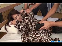 Asian girl used by two guys