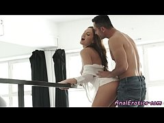 Eurobabe passionately assfucked by her lover