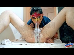 Teen Deepthroating Big Time! Making a Perfect PukeJob Vomit