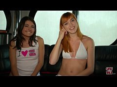 GIRLS GONE WILD - Two Teen Lesbians Means Trouble