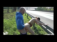 PUBLIC FUCKING NEXT ON GERMAN HIGHWAY (HARDCORE PUBLIC)
