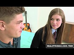 (Lara Brookes) - Schoolgirl gets pounded in her cute uniform - Reality Kings