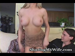 Hubby Joins New Guy Fucking His Wife