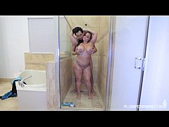sdPawg Betty Bang Gets Her Ass Pounded in the Shower