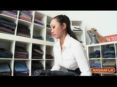 HD German Asian Lesbian Pleasure in Public store