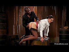 Huge black cock arms dealer spanks huge ass and tits Milf undercover agent
